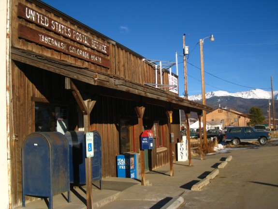 The Tabernash post office – talk about quaint, small town Colorado!