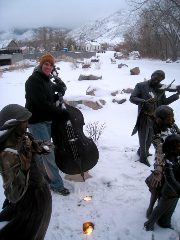 Mountain man musician.