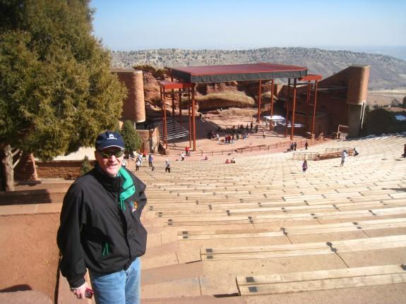 The grandeous amphitheater.